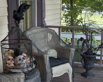 Goth Garden Ideas 16