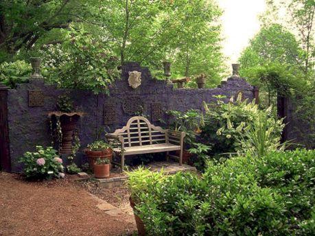 Goth Garden Ideas 17