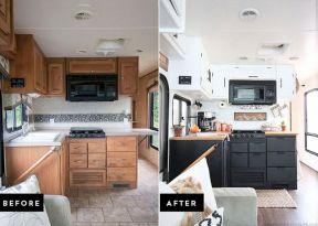 RV Kitchen Makeover Ideas 011