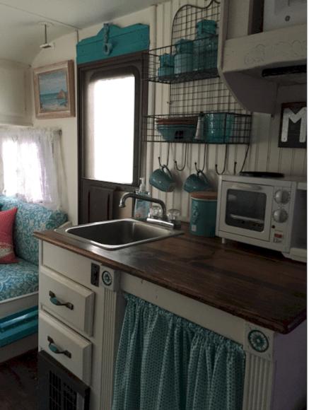 RV Kitchen Makeover Ideas 0131
