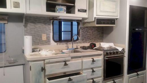RV Kitchen Makeover Ideas 061