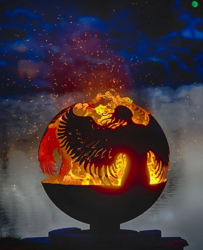 Steel Fire Pit Designs Fire Balls Are Custom Made