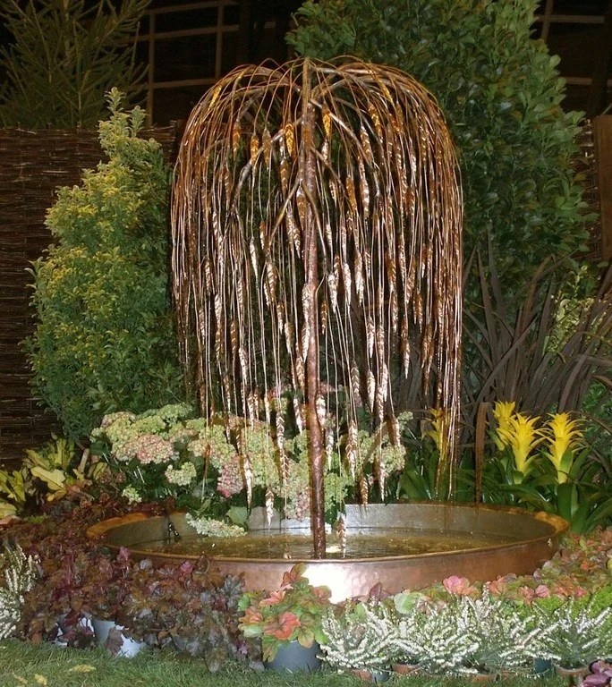 54 garden water features awesome outdoor design ideas Tree Water Feature id=58559