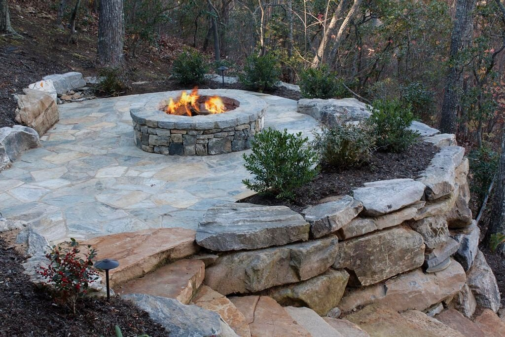Magical Outdoor Fire Pit Seating Ideas & Area Designs on Fire Pit Design  id=51454