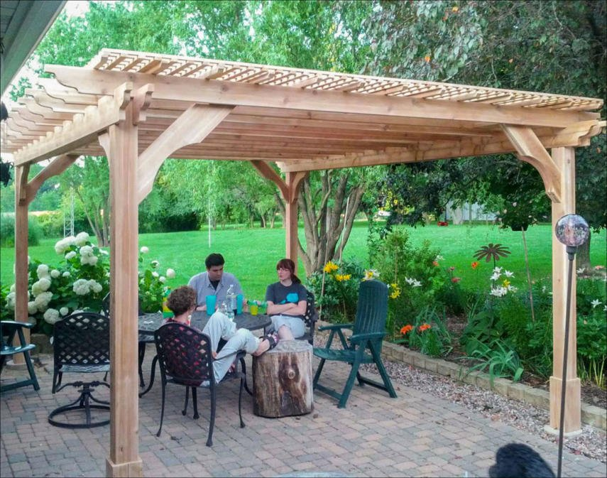 Covered Pergola Designs for Best Shade Ideas (Consumer Guide) on Covered Pergola Ideas  id=38820