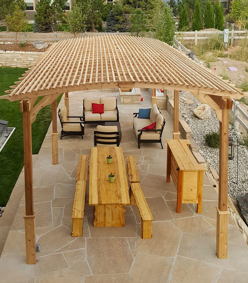 Covered Pergola Designs for Best Shade Ideas (Consumer Guide) on Covered Pergola Ideas  id=94076