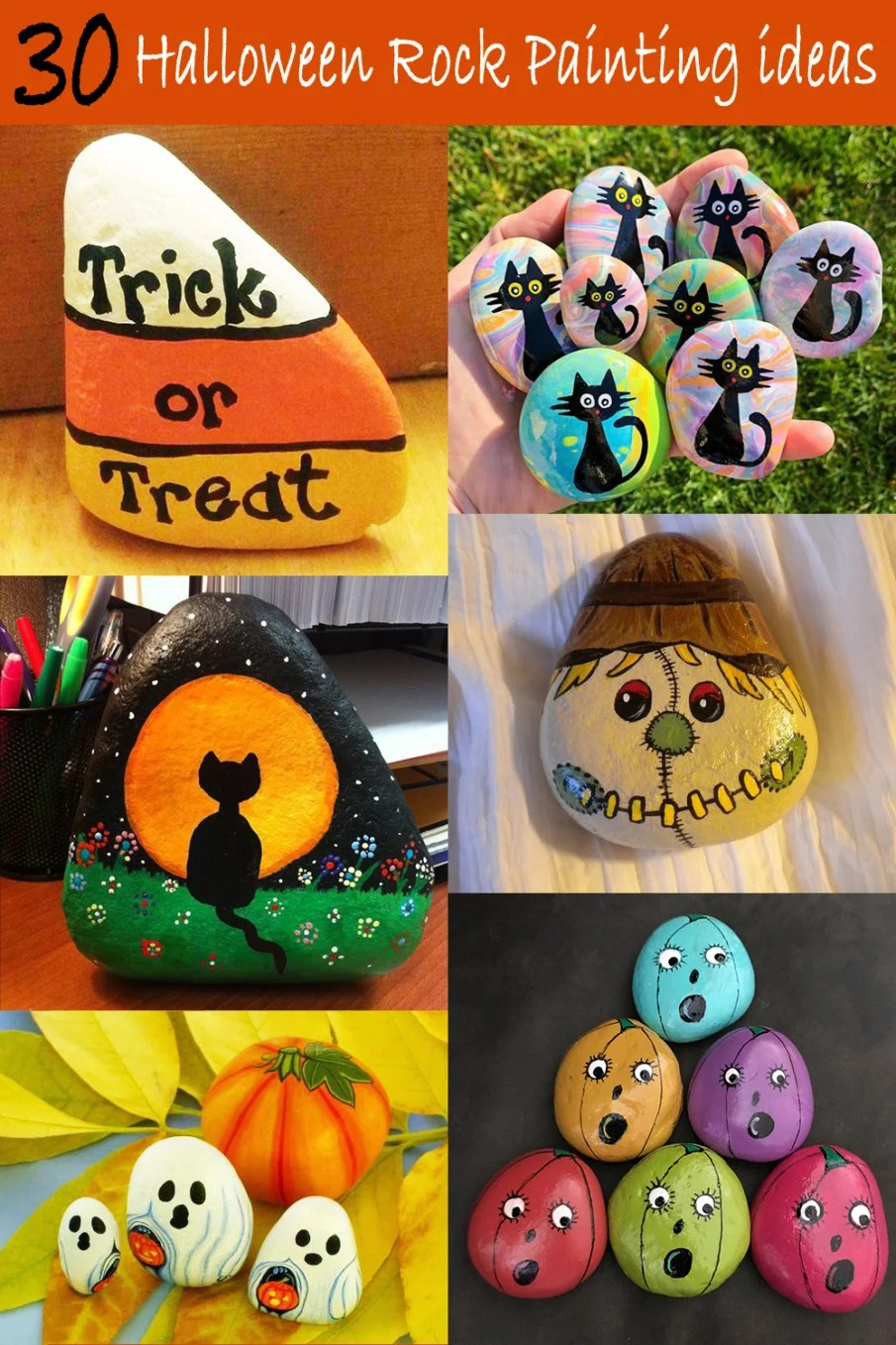 This quick history lesson will help you understand how this festive holiday began. 30 Best Halloween Rock Painting Ideas Cute And Simple Images