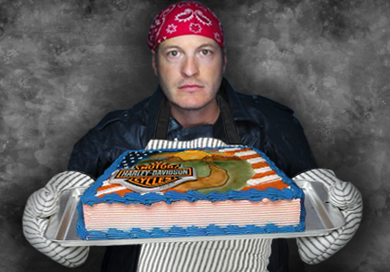 Harley Davidson Cake Decorating Biker