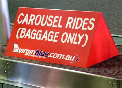 Virgin Baggage Carousel Rides