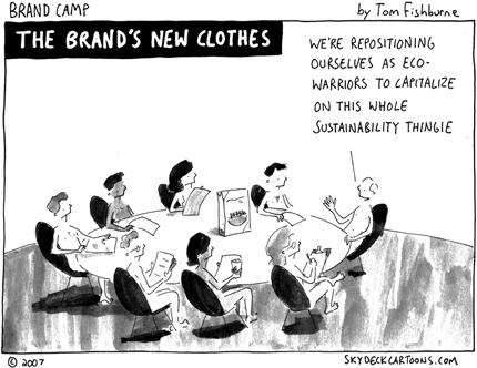 Brands New Clothes Cartoon