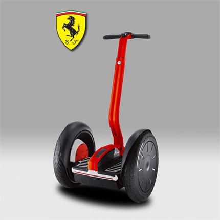 Ferrari Segway No Brand Relevance