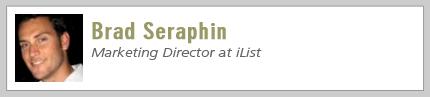 Brad Seraphin, Marketing Director at iList