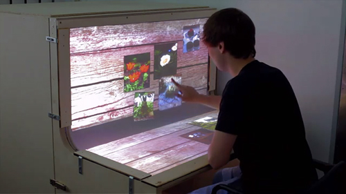 Future of the Desktop Computer: Multi-touch, Curved Touch