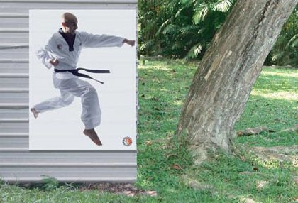 Karate School Ad