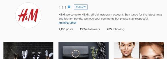 H&M-Instagram