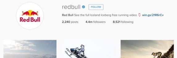RedBull-Instagram