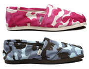TOMS Camoflage Shoes
