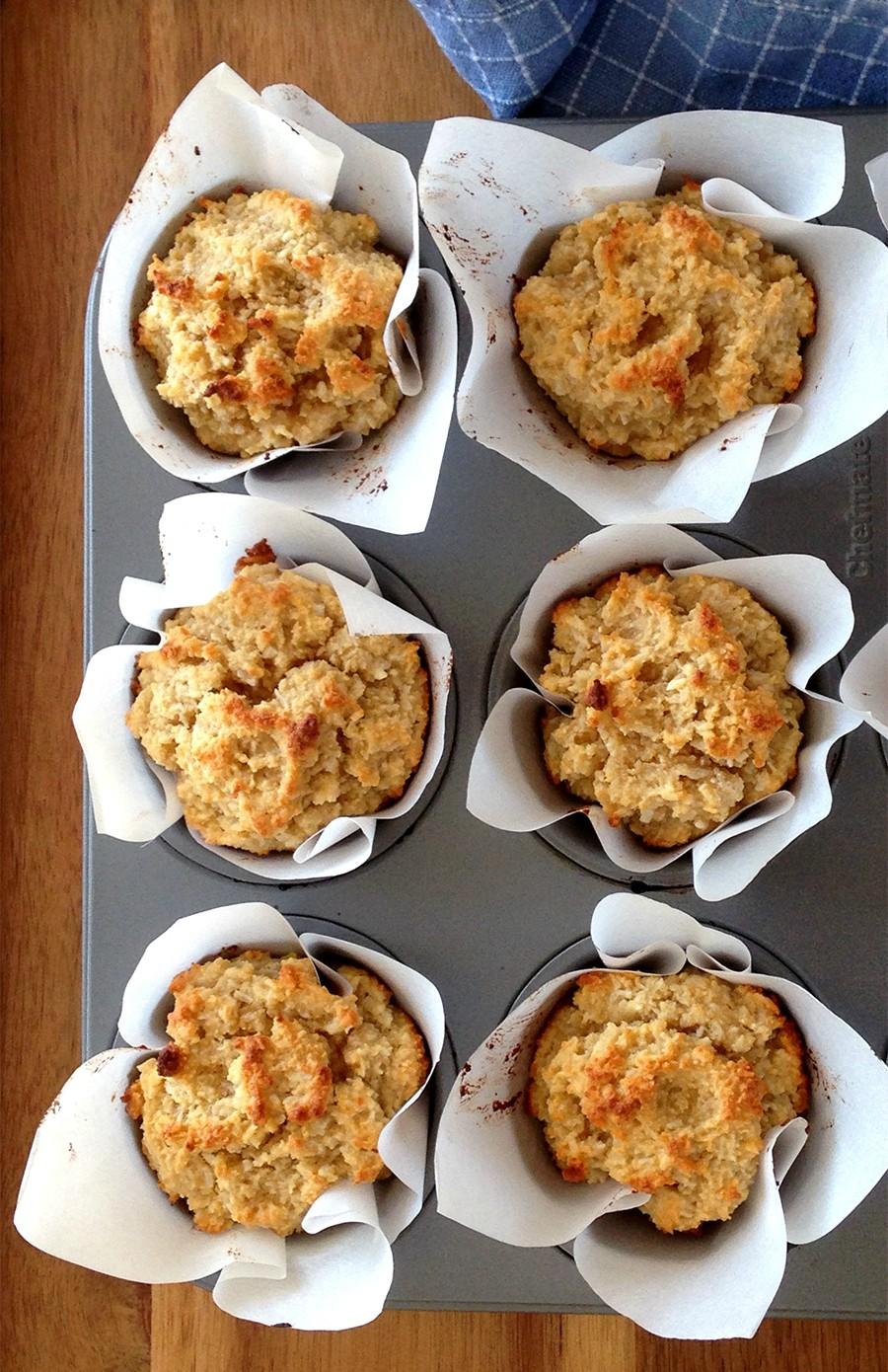 Triple Coconut Muffins (grain/dairy-free, paleo) | Fresh Planet Flavor