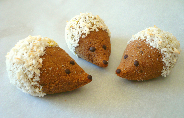 Paleo Hedgehog Cookies