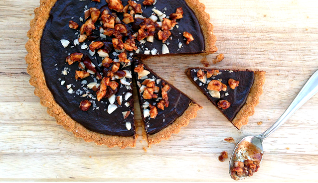 Montezumas Spicy Chocolate Tart - Grok Grub