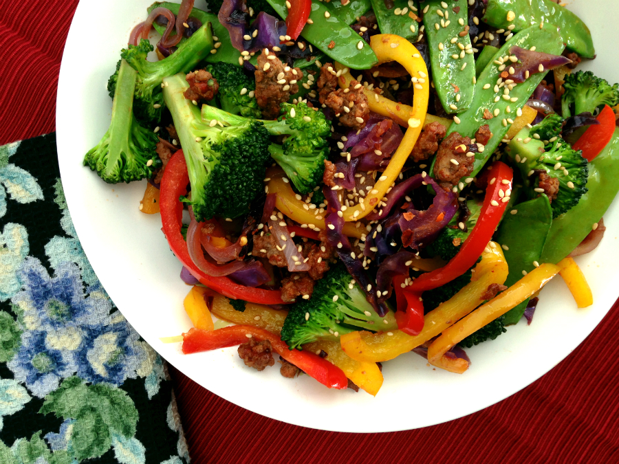 Simple Beef Stir Fry - Fresh Planet Flavor