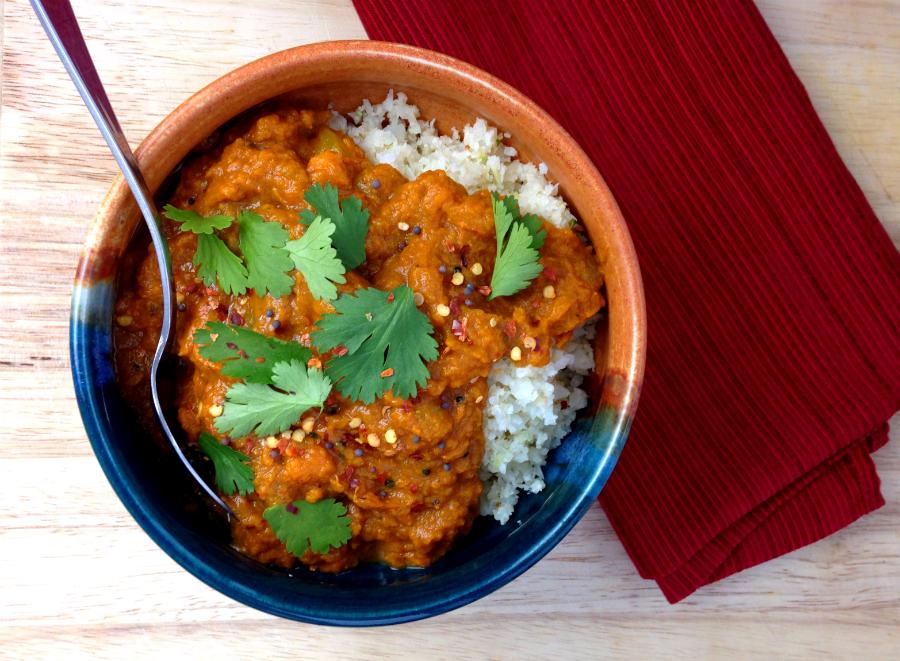 GrokGrub.com - Sambar (Indian Onion Stew) | Paleo