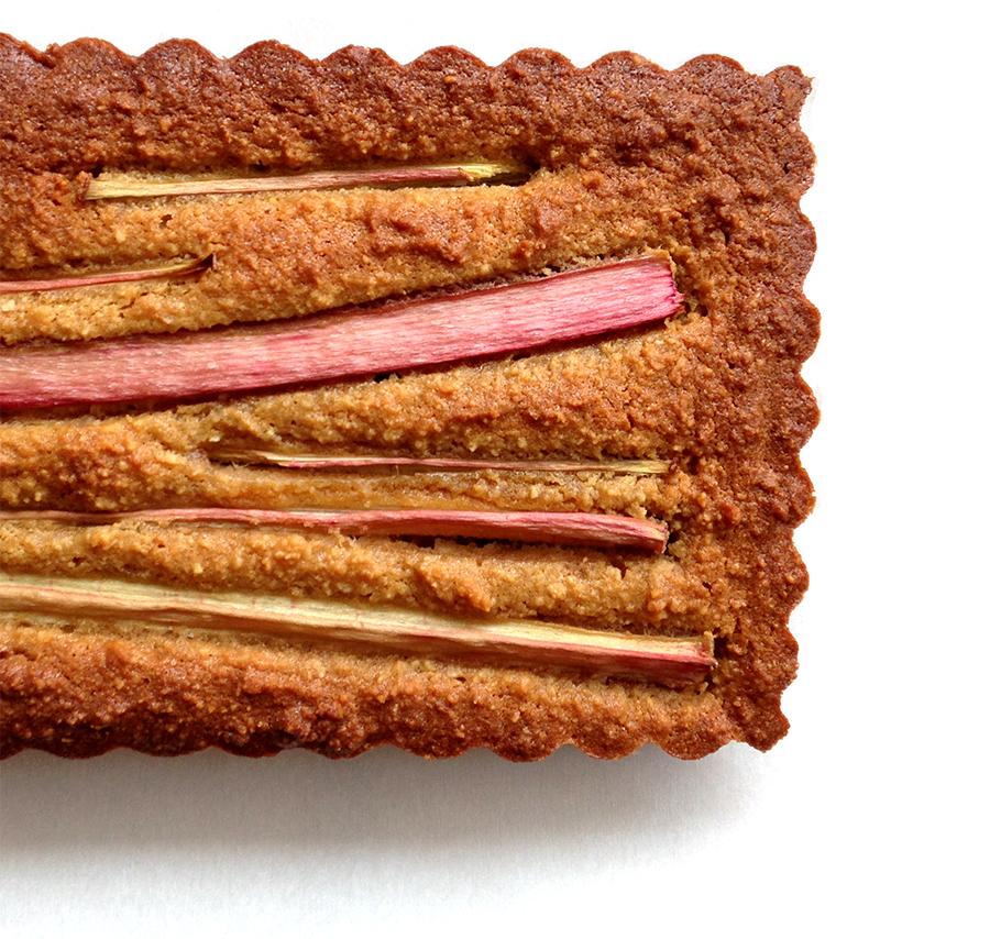 Grain-Free Rhubarb Tart | Fresh Planet Flavor