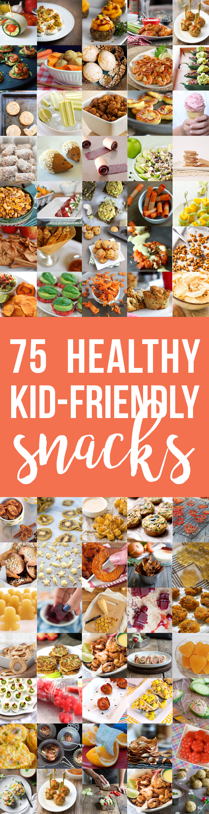 75 Healthy Kid-Friendly Snacks (allergy-friendly for every occasion!) | Fresh Planet Flavor