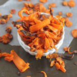 Crispy Baked Carrot Chips: 75 Healthy Kid-Friendly Snacks (allergy-friendly for every occasion) | GrokGrub.com