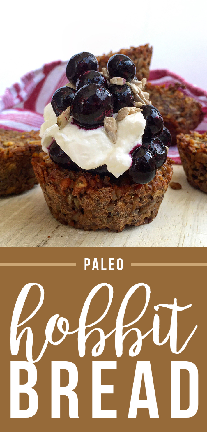 Paleo Hobbit Bread (grain free, sugar free, dairy free) | Fresh Planet Flavor