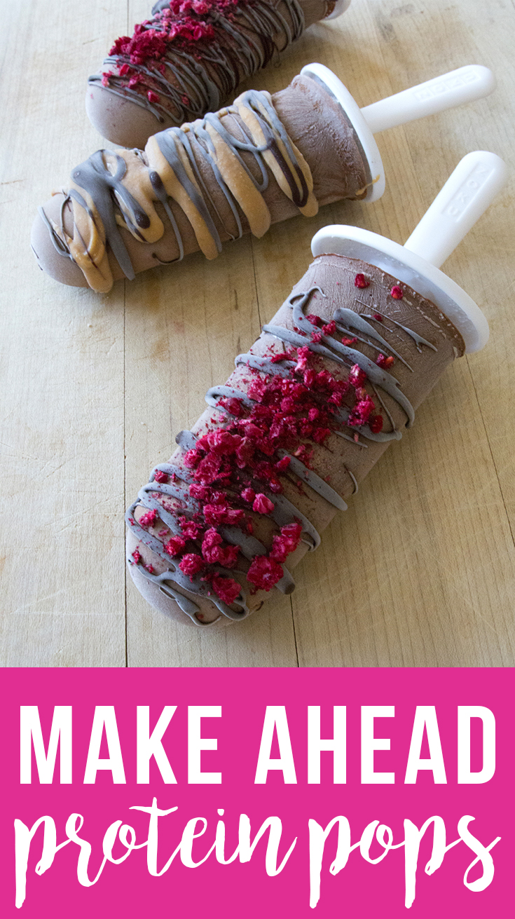 Make-Ahead Pre-Workout Protein Pops (grain free, dairy free, fruit-sweetened) | Fresh Planet Flavor