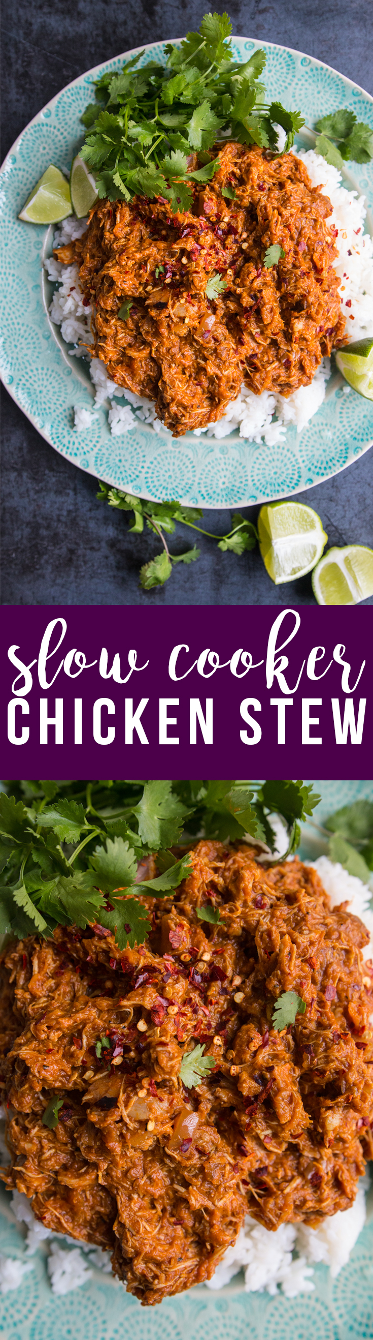 This slow cooker curried chicken stew uses simple ingredients and a hands-off technique to make a thick, savory result that's packed with flavor.