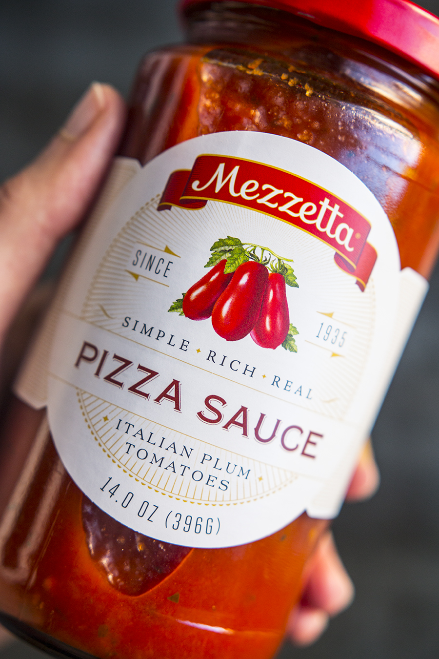 Mezzetta Pizza Sauce (sugar-free)