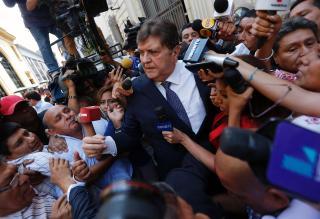 Peru's Garcia, former president and political chameleon, kills himself to avoid arrest