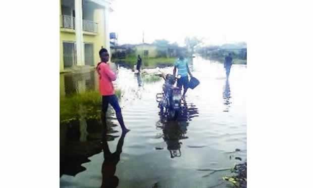 bayelsa flooded area