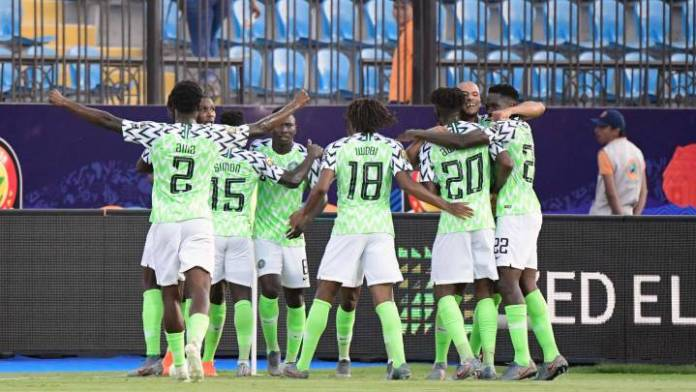 Super Eagles beat Cameroon in Egypt