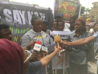 #RevolutionNow: 30 CSOs Stage Counter-protest Against Sowore's Coalition