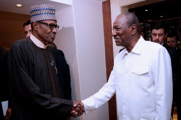 Buhari and Alpha Conde e1508596987914