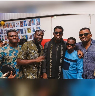Seyi Awolowo Receives TV, Shoes, Portrait, Cake From Fans