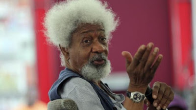 Man of his word Soyinka years up U.S.A. greencard in anger over Trump victory