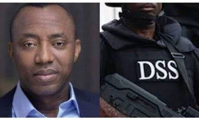 BREAKING!!! Sowore Sues DSS ₦500m Over Illegal Detention