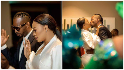 Check Out Beautiful Photos From Court Wedding Of Singer 9ice