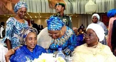 Aisha Buhari Meets Patience Jonathan, Late Maryam Babangida Celebrated(photos)