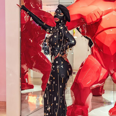 Photos: Cardi B Sets The Internet On Fire With Her Outfit To Men Fashion Week In Paris