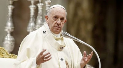 Pope Francis Sends Message To US, Iran Over War Threats