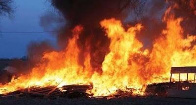 An Aged Woman Burn To Death As Fire Razes House In Osun