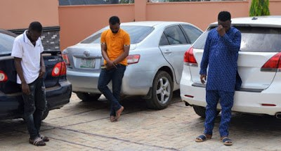 Over 40 Suspected Internet Fraudsters Arrested In Ogun (Photos)