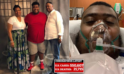 See Heart Breaking Photos As Woman Loses Only Son And Husband To Coronavirus Within 3 Days