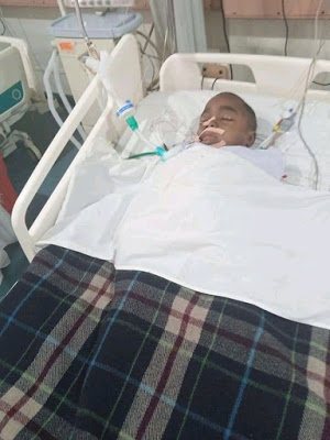 PHOTOS: Nigerian Man Successfully Underwent Cancer Surgery In India