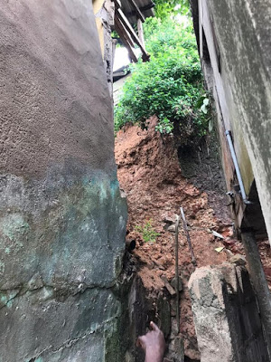 PHOTOS: Two Children Die As Building Collapses In Lagos